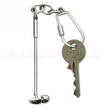 Long Golf Club Key Ring