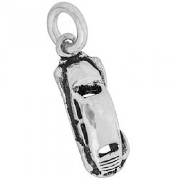 Silver Classic VW Beetle Charm