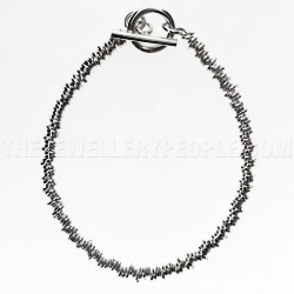 Silver Sweetie Bracelet with T-Bar
