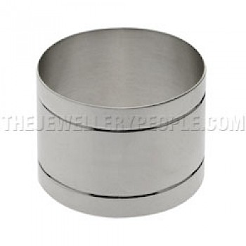 Stripe Silver Napkin Ring