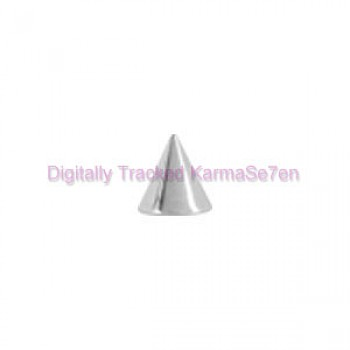 Surgical Steel Threaded Cone