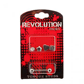 Tongue Stud Revolution Pack - Steel Accessories