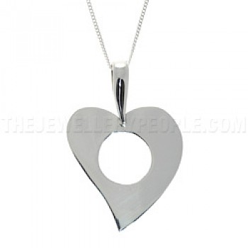 Whole Heart Silver Pendant