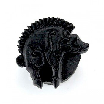 ANCIENT BOAR CARVED FLESH PLUG