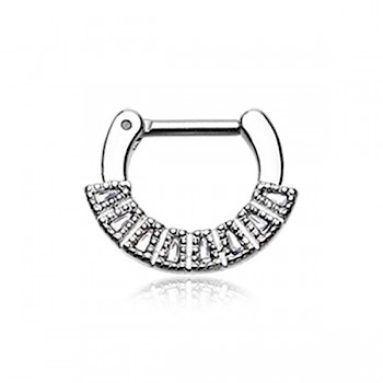 CHARA SEPTUM CLICKER RING