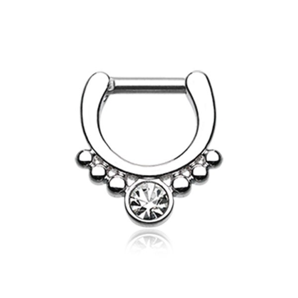 CLASSIC SEPTUM CLICKER RING