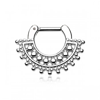 DIVINE SEPTUM CLICKER RING