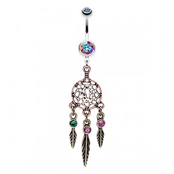DREAM CATCHER BELLY BAR