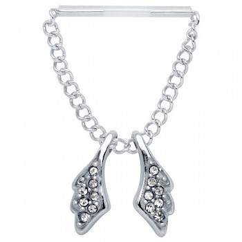 ANGEL WINGS NIPPLE PIERCING CHAIN