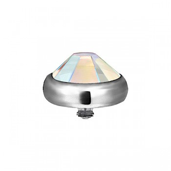 TITANIUM JEWEL TOP FOR DERMAL ANCHORS - AB