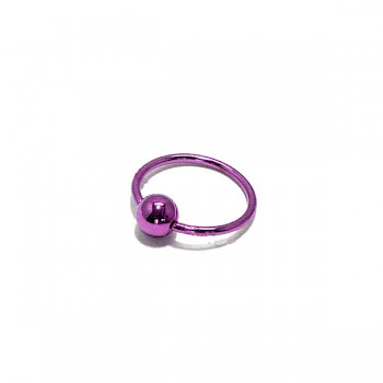 TITANIUM ANODISED BCR - PURPLE