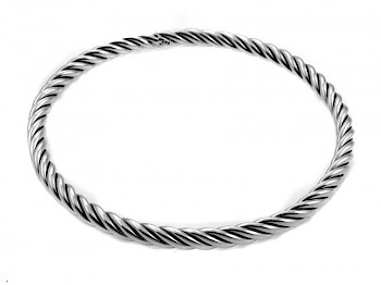 Oxidised Rope Bangle SB257