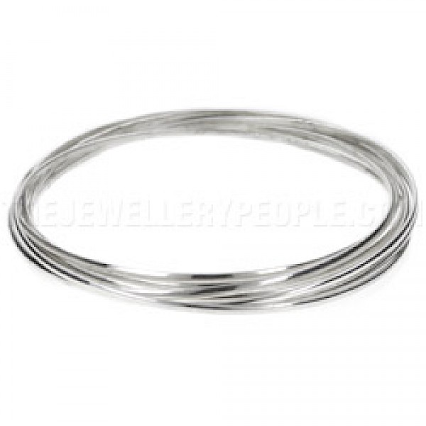 6 Piece Silver Russian Wedding Bangle