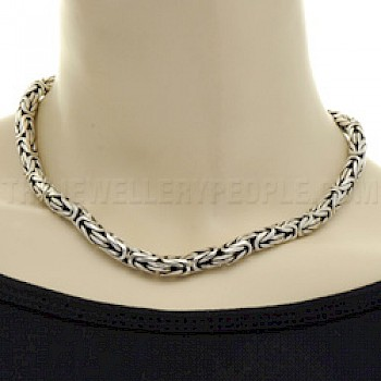 "18"" (45cms) Thai Silver Chain Necklace - 7mm"
