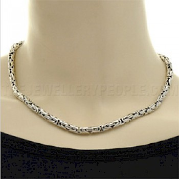 "22"" (56cms) Thai Silver Chain Necklace - 5mm"