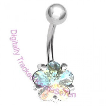 AB Flower Belly Bar