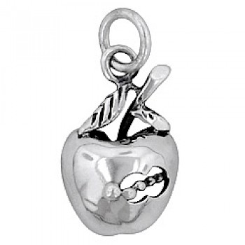 Apple Silver Charm