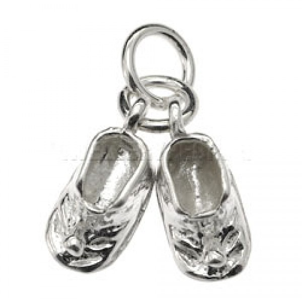 Baby Boots Silver Charm