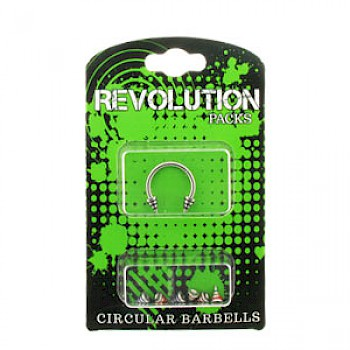 Circular Barbell Micro Revolution Pack - Striped Cones