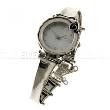 Classic Rose Silver Watch