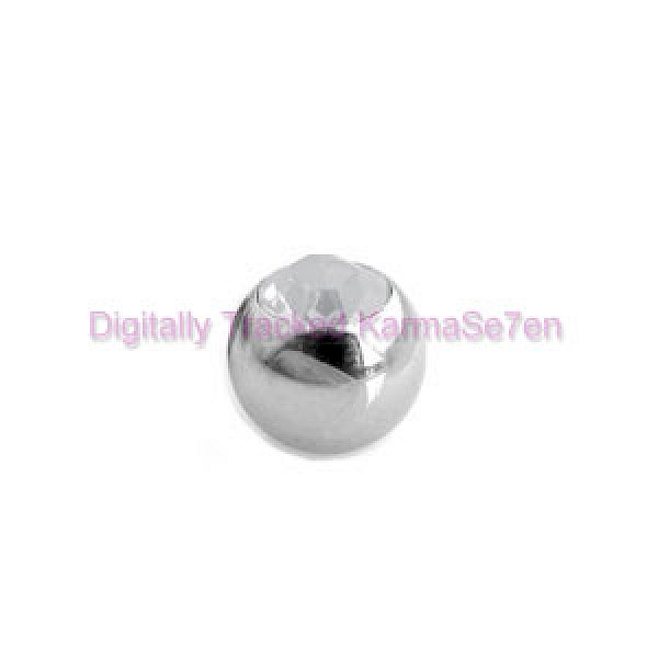 Clear Jewelled Surgical Steel Threaded Micro Ball (1.6mm x 5mm)