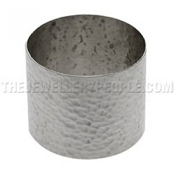 Hammered Silver Napkin Ring