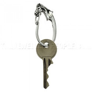 Horse Head Key Ring - 50mm