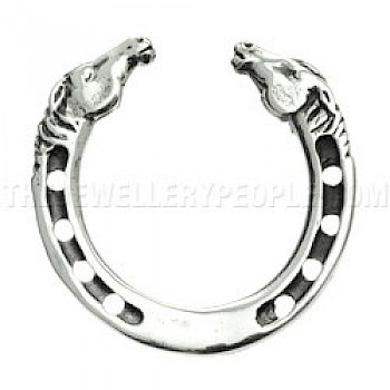 Horse Shoe Brooch - 30mm
