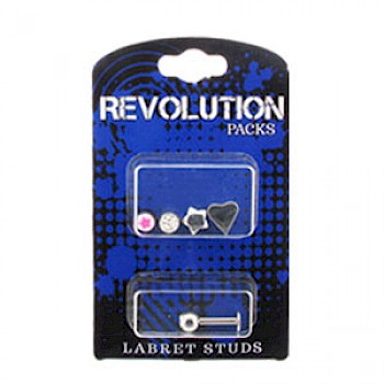 Labret Stud Revolution Pack - Balls & Accessories